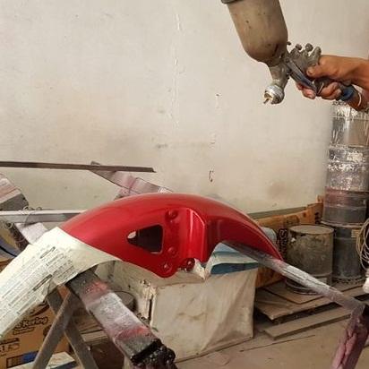 jasa bengkel cat motor di bali